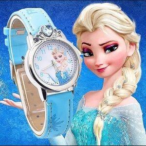 Children's Elsa Leather Watch